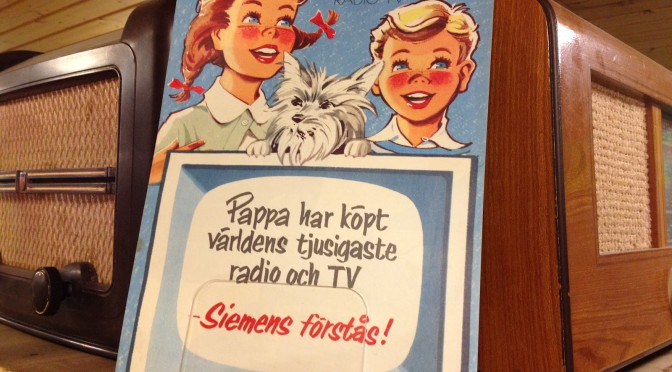 """""""Världens tjusigaste radio och tv"""""""