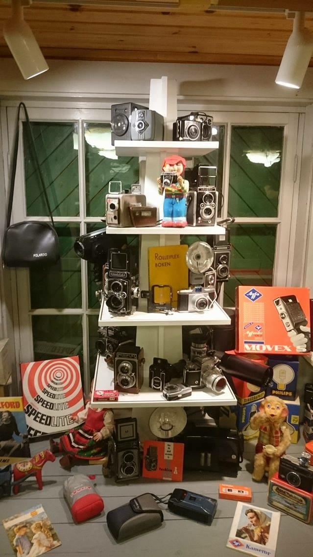 Riktig gamla kameror.